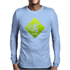 Cthulhu danger 2 Mens Long Sleeve T-Shirt