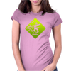 Cthulhu danger 2 Womens Fitted T-Shirt