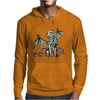 Cthulhu in classical superhero pose Mens Hoodie