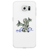 Cthulhu in classical superhero pose Phone Case