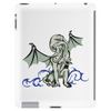 Cthulhu in classical superhero pose Tablet