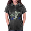 Cthulhu in classical superhero pose Womens Polo