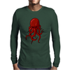 Cthulhu Octopus Lovecraft 3 Mens Long Sleeve T-Shirt