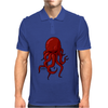 Cthulhu Octopus Lovecraft 3 Mens Polo