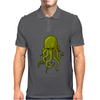 Cthulhu Octopus Lovecraft Mens Polo