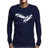 CTRL Z Car Crash Undo Mens Long Sleeve T-Shirt