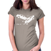 CTRL Z Car Crash Undo Womens Fitted T-Shirt