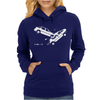 CTRL Z Car Crash Undo Womens Hoodie