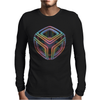 Cubed Mens Long Sleeve T-Shirt
