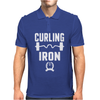 Curling Iron Mens Polo