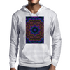 Curly Purple Kaleidoscope Mens Hoodie