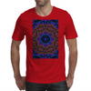 Curly Purple Kaleidoscope Mens T-Shirt