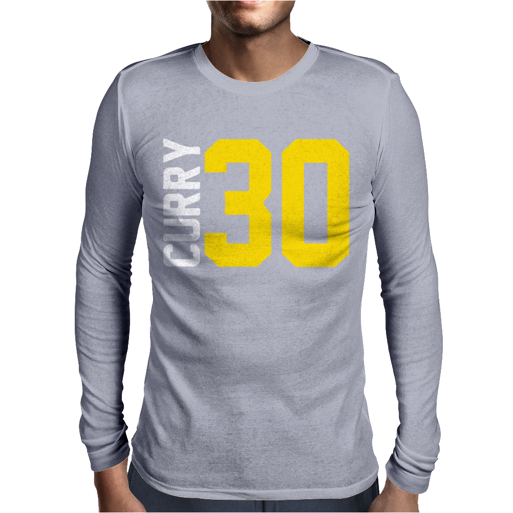 Curry Steph Curry 30 Mens Long Sleeve T-Shirt