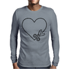 Cut Your Heart Out Mens Long Sleeve T-Shirt