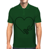 Cut Your Heart Out Mens Polo