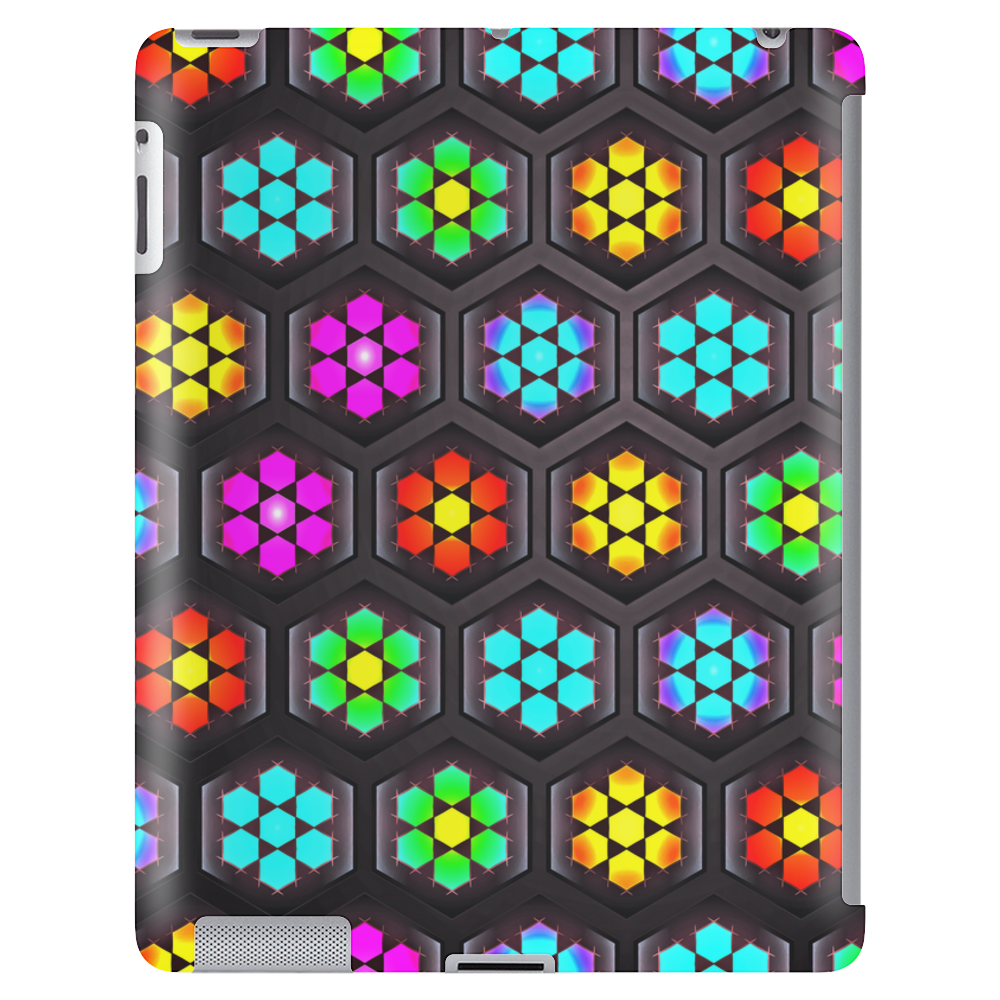 Cute Abstract Floral Pattern Tablet
