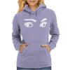 Cute and creepy eyes Womens Hoodie