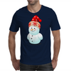 Cute Baby Snowman Mens T-Shirt