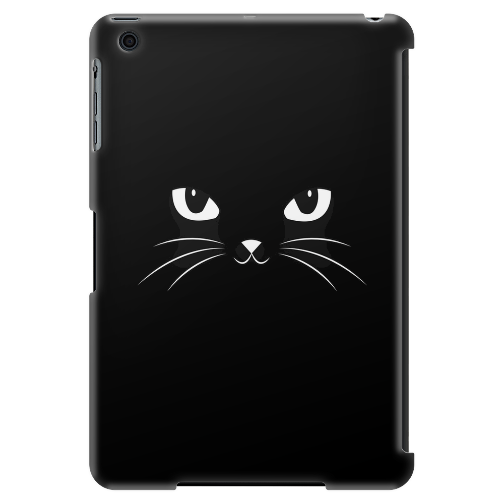 Cute Black Cat Tablet