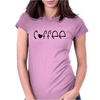 Cute Coffee Womens Fitted T-Shirt