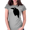Cute Crow Womens Fitted T-Shirt