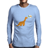 Cute Dinosaur Rawr Mens Long Sleeve T-Shirt