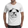 CUTE DOG Mens T-Shirt