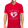 Cute Enough To Stop Your Heart, Skilled Enough To Restart It T-Shirt Mens Polo