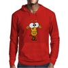 Cute Funky Giraffe Original Art Mens Hoodie