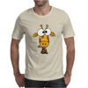 Cute Funky Giraffe Original Art Mens T-Shirt