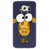 Cute Funky Giraffe Original Art Phone Case