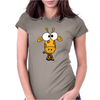 Cute Funky Giraffe Original Art Womens Fitted T-Shirt