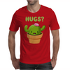 Cute Funny Catcus Hugs Mens T-Shirt