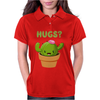 Cute Funny Catcus Hugs Womens Polo