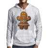 Cute Gingerbread Lady Mens Hoodie