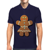 Cute Gingerbread Lady Mens Polo