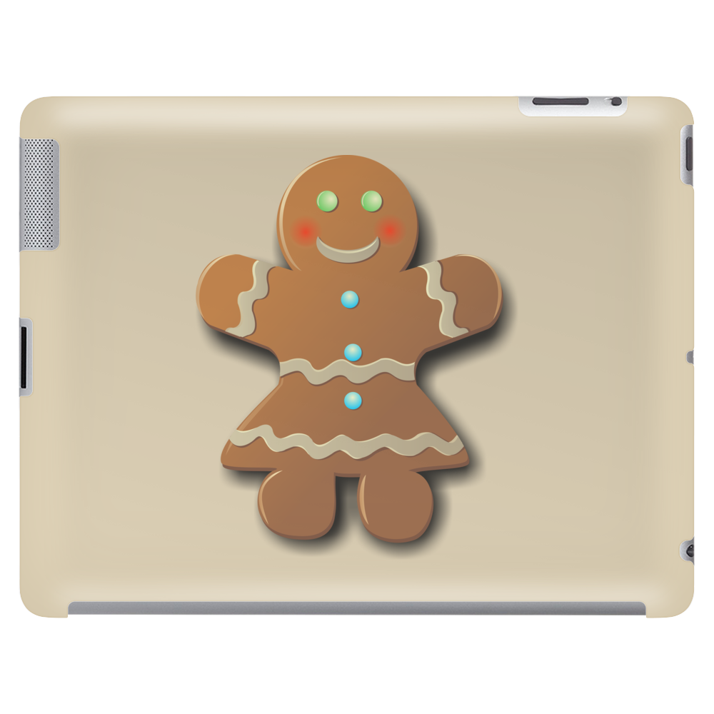 Cute Gingerbread Lady Tablet