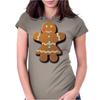 Cute Gingerbread Lady Womens Fitted T-Shirt