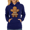 Cute Gingerbread Lady Womens Hoodie