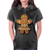 Cute Gingerbread Lady Womens Polo