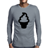 Cute Ice Cream Mens Long Sleeve T-Shirt