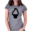 Cute Ice Cream Womens Fitted T-Shirt