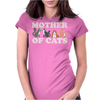 Cute Mother of Cats Womens Fitted T-Shirt