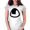 Cute Onigiri Womens Fitted T-Shirt