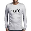 Cute Rum Mens Long Sleeve T-Shirt