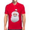 Cute Santa Claus Cartoon Mens Polo