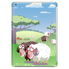 Cute sheep on summer medow Tablet
