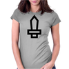 Cute Sword Womens Fitted T-Shirt