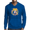 Cute Usagi Pattern Mens Hoodie