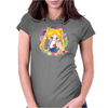 Cute Usagi Pattern Womens Fitted T-Shirt